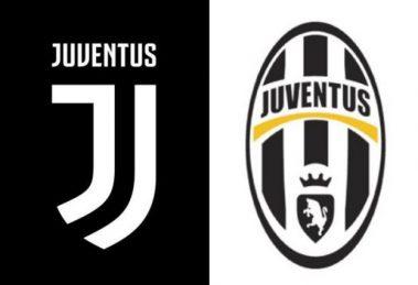 juventus logo vechi versus nou