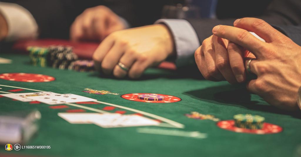 masa de blackjack