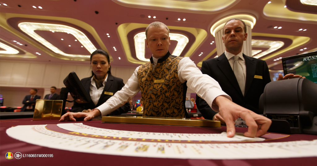 Dealer casino live
