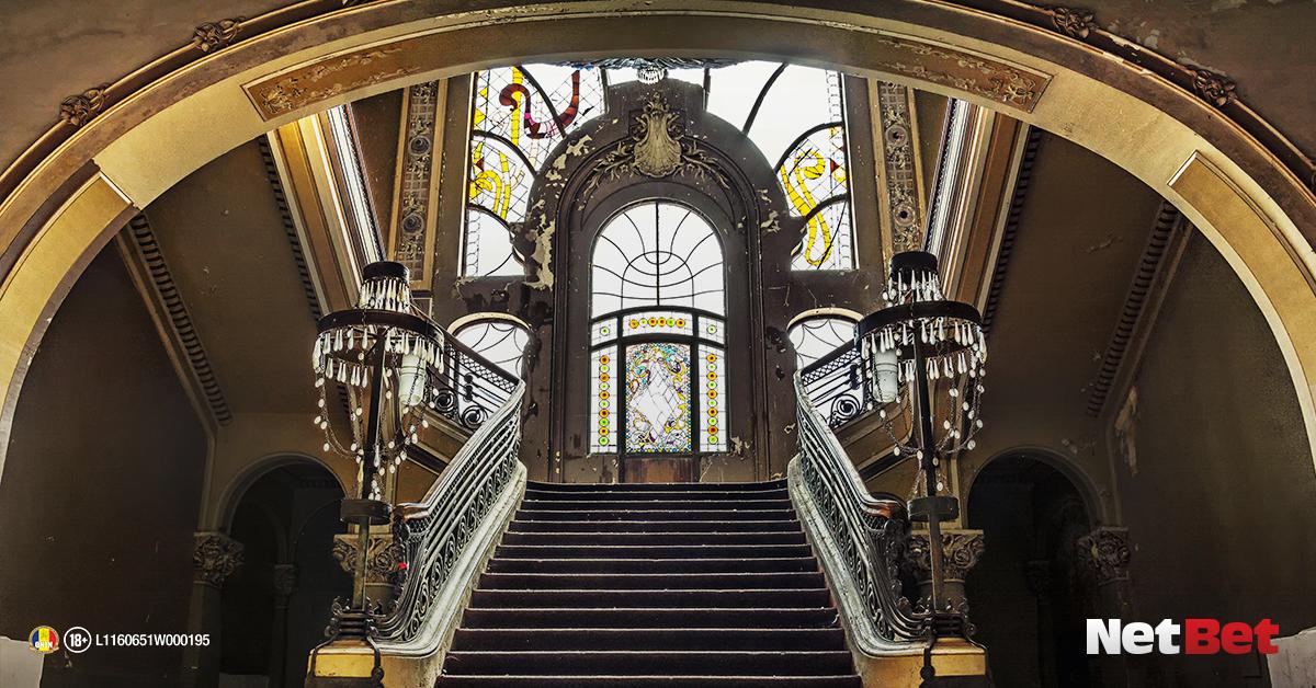 Scara interioara a Cazinoului din Constanța