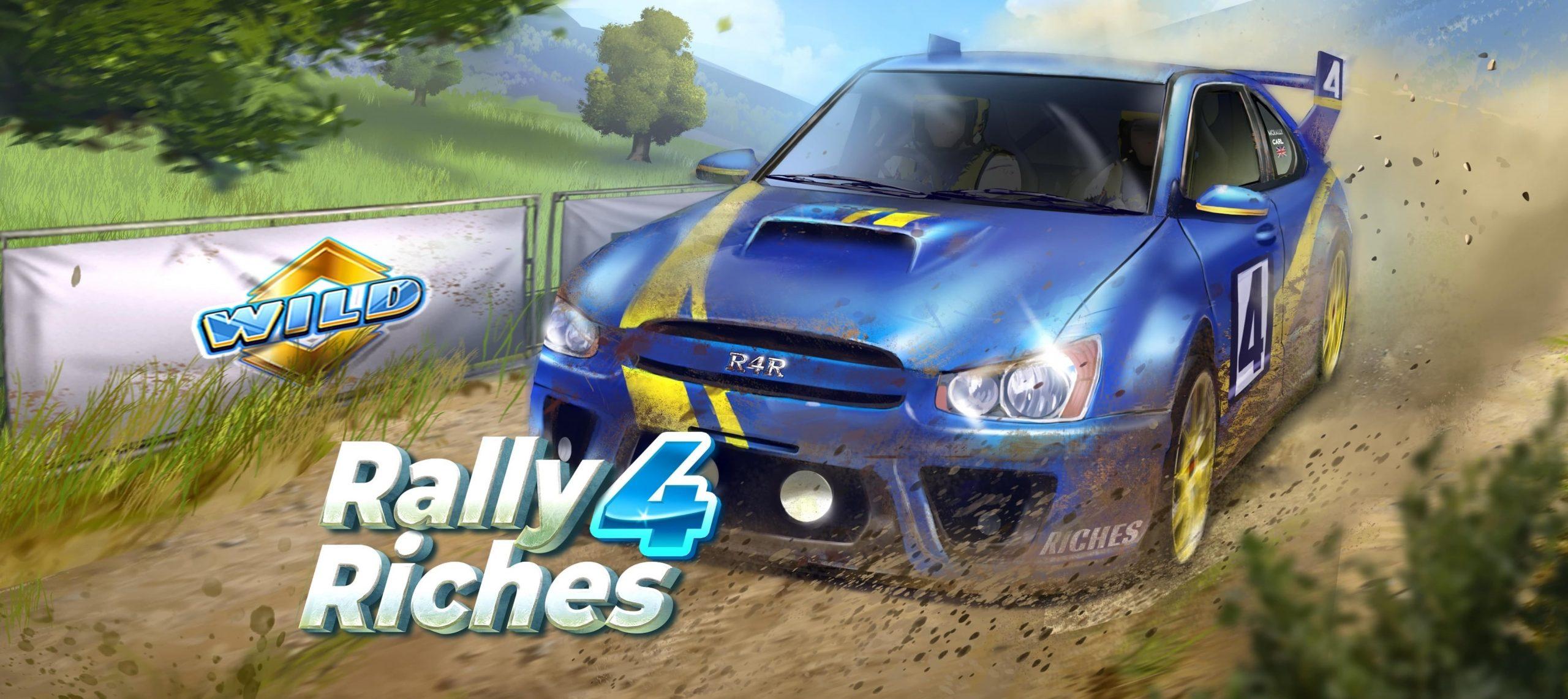 mașini puternice Rally 4 Riches