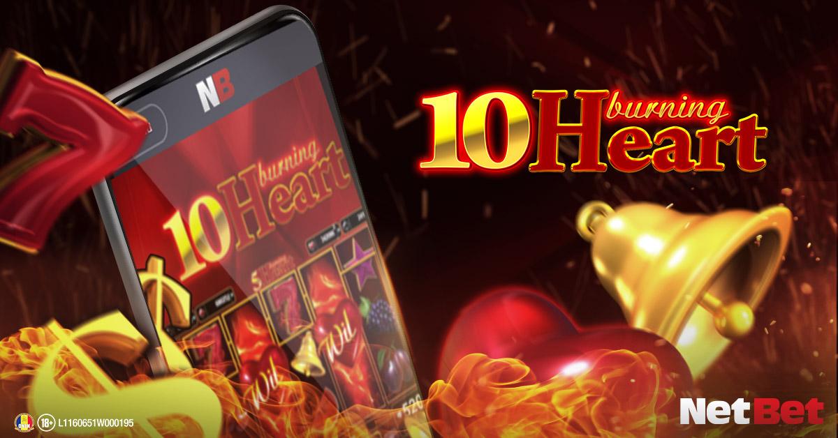 Jocul slot 10 Burning Heart