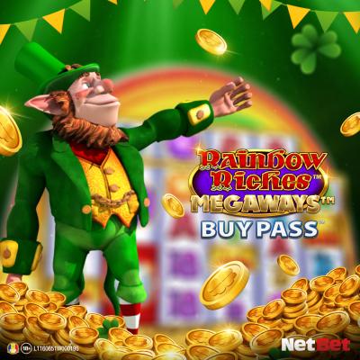 Rainbow Riches Megaways Buy Pass