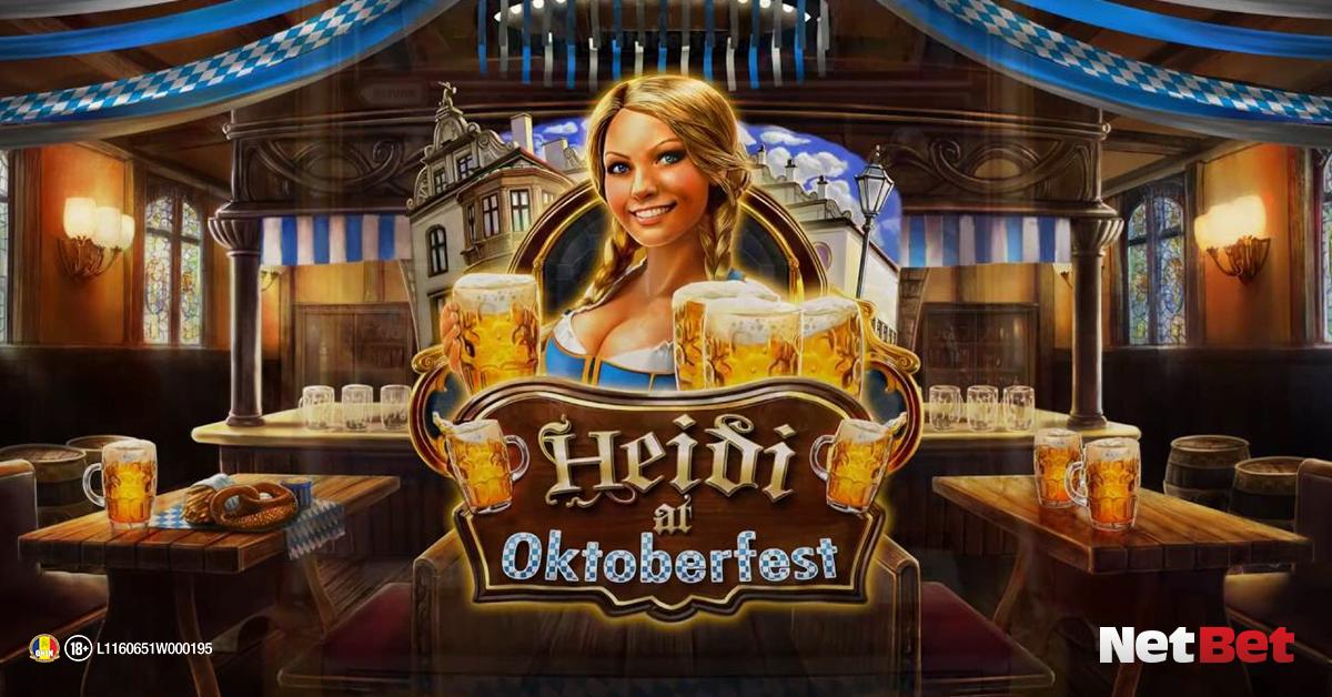 Sloturi cu tematică de toamnă - Heidi at Oktoberfest